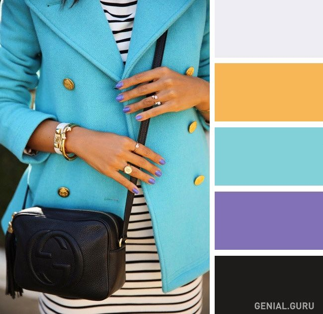 Combinación de colores en ropa
