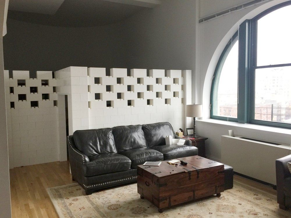 NYC Apt Wall.png EverBlock® is a Life-Sized Modular Building Block ...