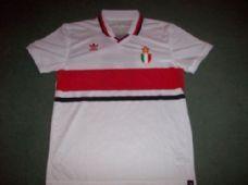 1990 AC MIlan Baresi #6 Adidas Originals Football Shirt Top