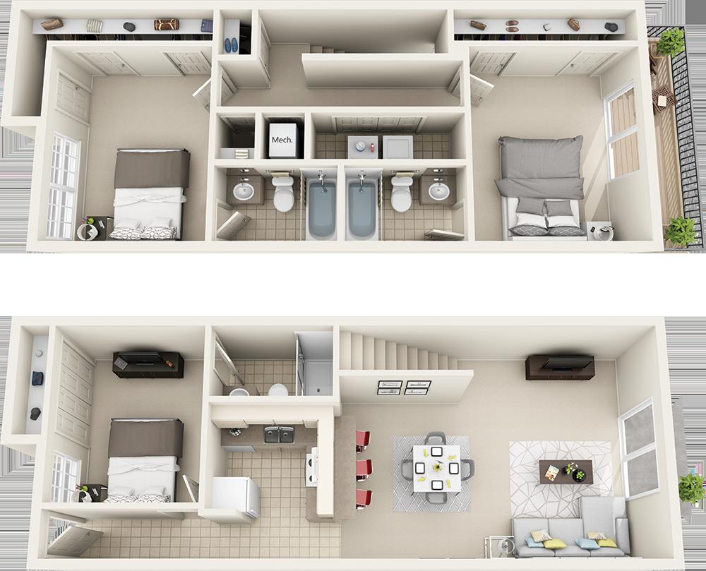 Floor Plans Căn hộ, Nhà cửa, Kiến trúc