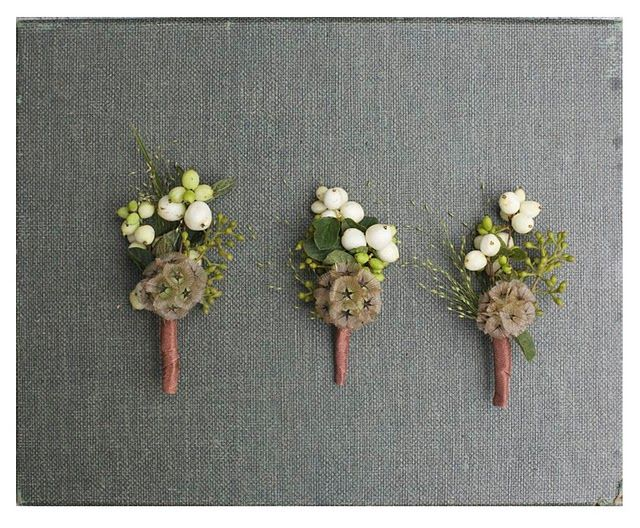 boutonniere options...