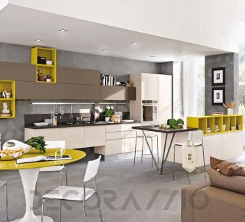 kitchen #design #interior #furniture #furnishings комплект в кухню ...