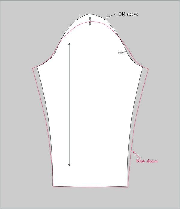 Sleeve Adjustment: How To Make Room For Full Upper Arms