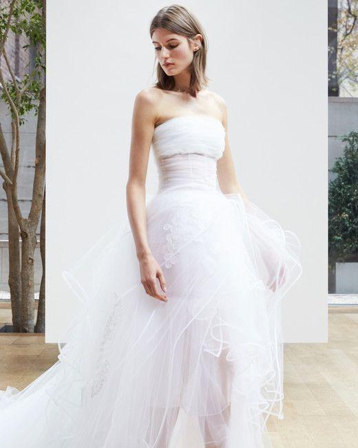 Oscar de la Renta Spring 2018 Wedding Dress Collection | Martha ...