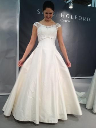 Si Holford Gown With Lace Jacket
