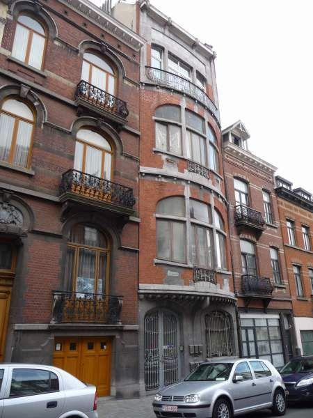 Maison, 1912, Arch. Ferdinand Symons, Rue de Gravelines Nr. 39. Brüssel