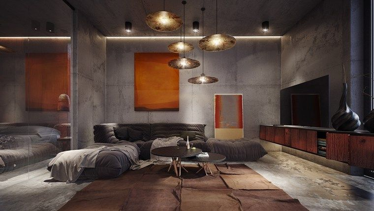 Hormigon armado: 65 diseños con paredes de hormigón expuesto | Interiors
