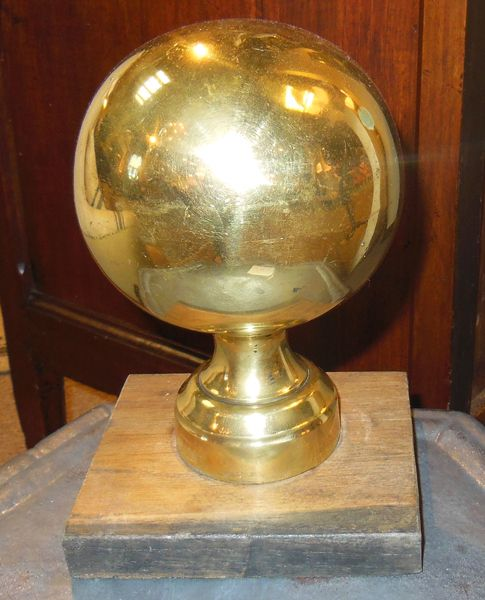 19th C. Bannister Ball