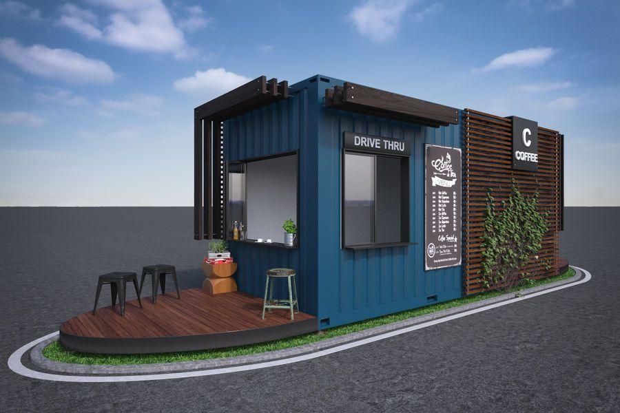 Drive Thru Coffee Stand Columbia Tn Business Start Up Design Coffee Stands Drive Thru Coffee Coffee Works