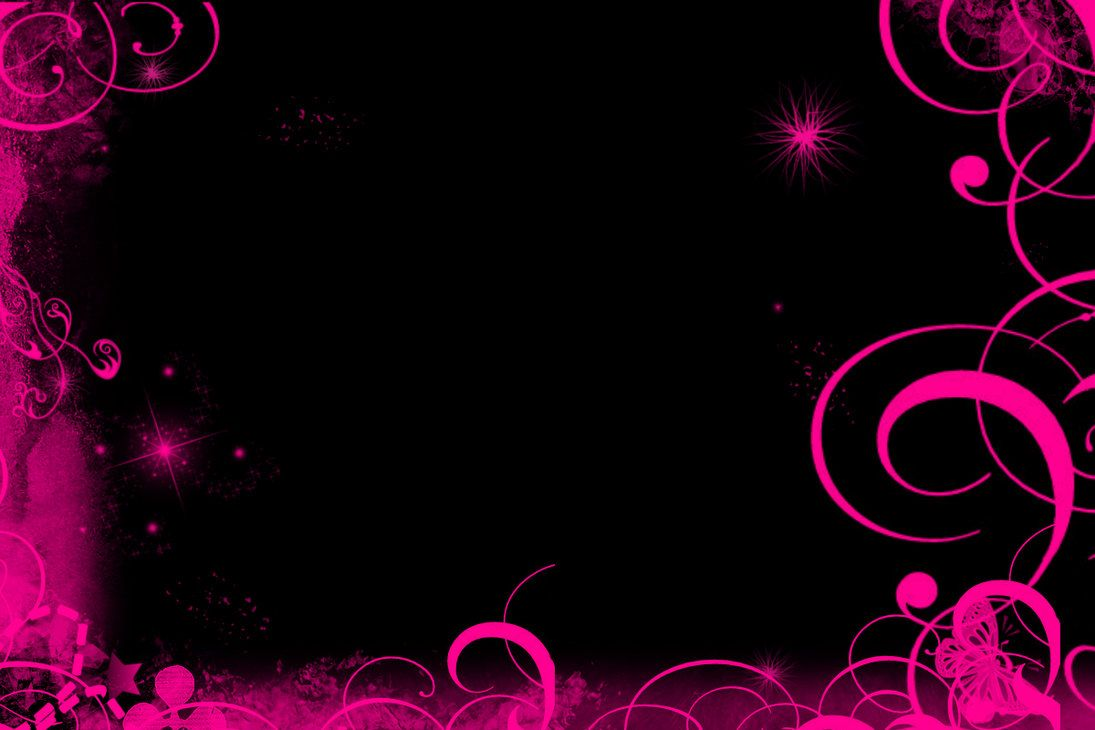 Pink And Black Butterfly Wallpapers Black Pink Wallpaper By