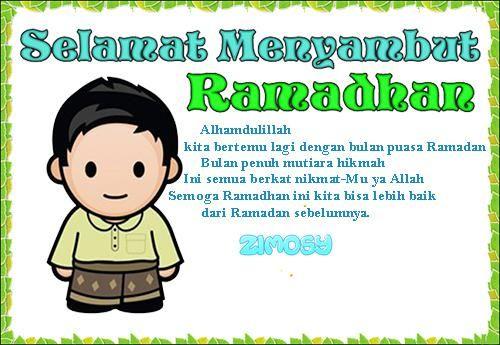 Kumpulan Pantun Menyambut Bulan Puasa Ramadhan Lucu With Images
