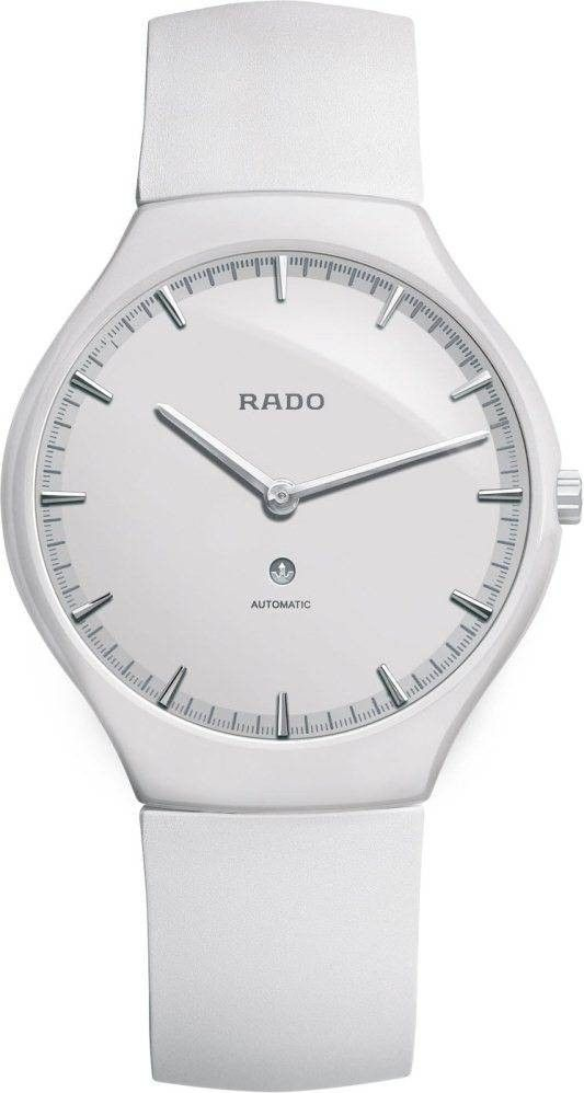 Rado Watch True Thinline L #bezel-fixed #bracelet-strap-rubber #brand-rado #case-depth-8mm #case-material-ceramic #case-width-40mm #clasp-type-tang-buckle #delivery-timescale-4-7-days #dial-colour-white #gender-ladies #luxury #movement-automatic #official-stockist-for-rado-watches #packaging-rado-watch-packaging #style-dress #subcat-true #supplier-model-no-r27970109 #warranty-rado-official-2-year-guarantee #water-resistant-30m