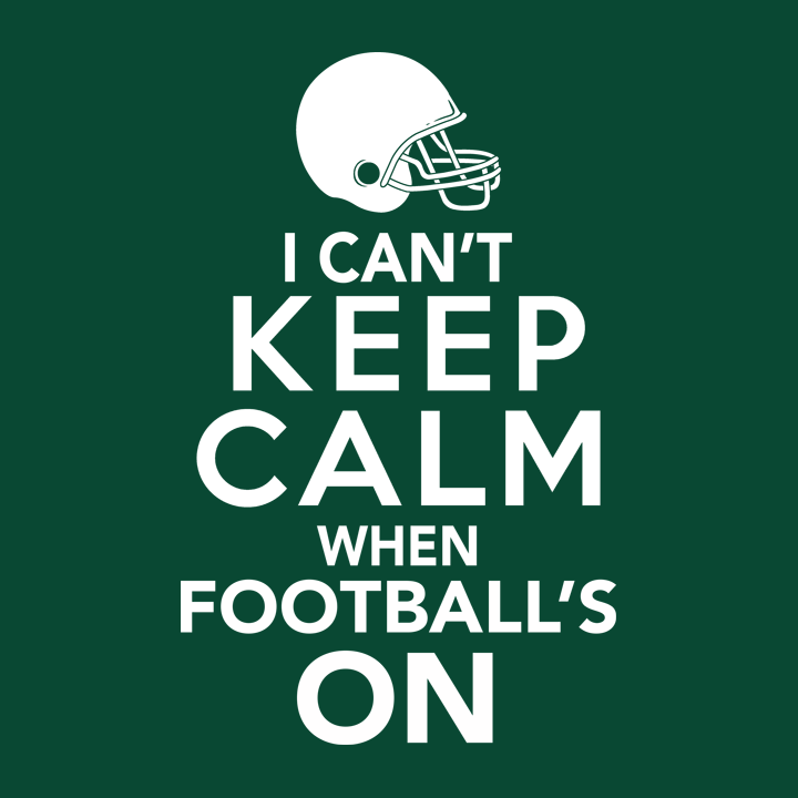 5734ca6ce20a This funny football fan t-shirt is perfect for super fans who can t keep  calm when football s on. It makes the perfect game day t-shirt or gift for  football ...