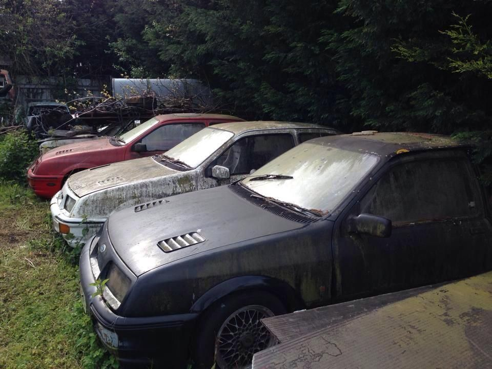 Ford Sierra Rs Cosworth Abandoned Cars Car Barn Old Classic Cars