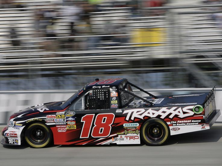 2009 Toyota Tundra Nascar Camping World Series Truck Race Racing G