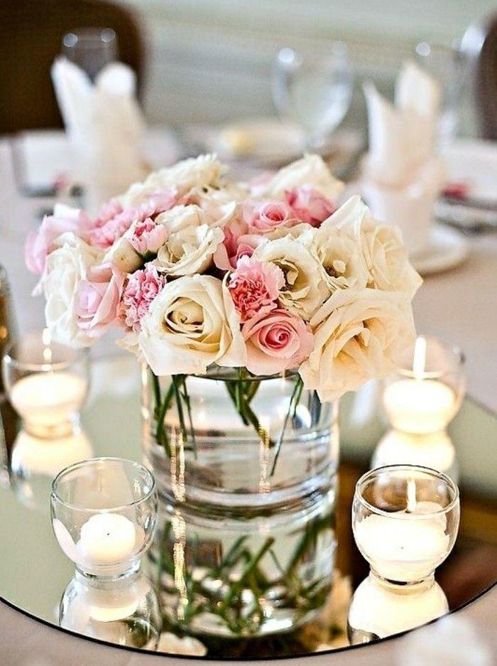 La vase avec des roses
