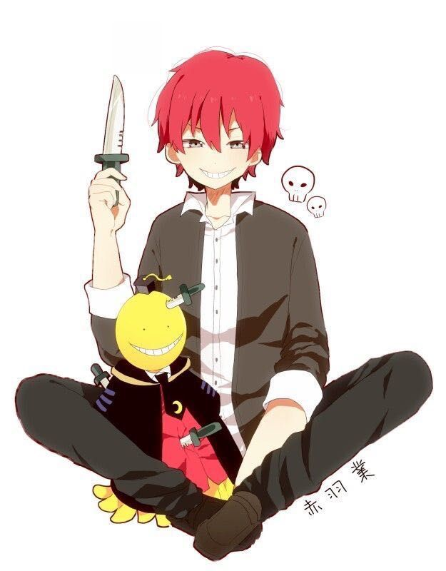 Assassination Classroom One Shots Various X Reader 1 Math Problems Akabane Karma X Reader Assassination Classroom Karma Akabane Nagisa And Karma