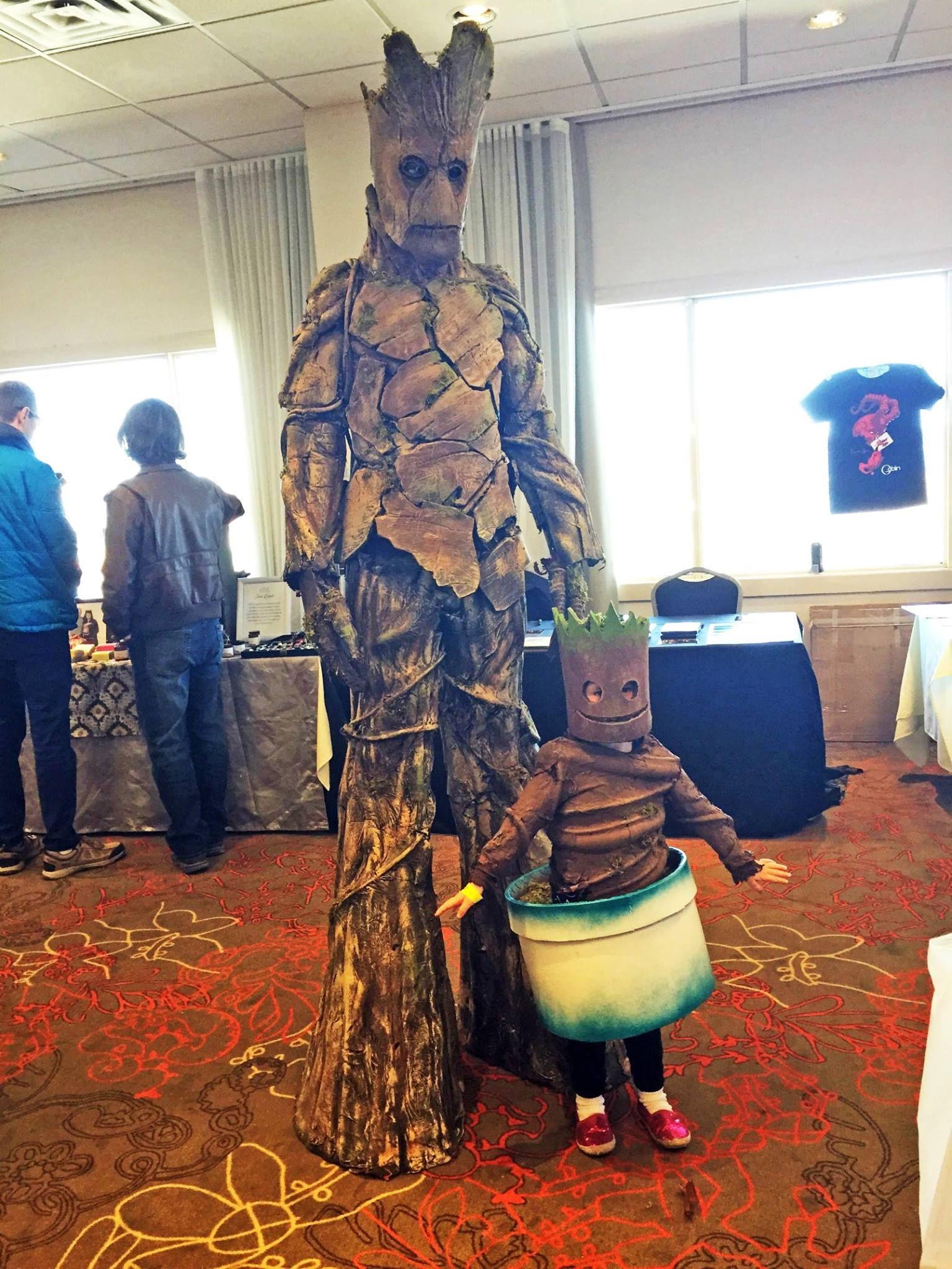 Carnival Costume Groot Marvel Guardians of Flora Child Rubies Halloween