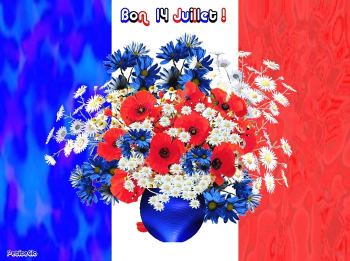 Bon 14 Juillet! - Fête Nationale image #4795 - BonnesImages | Fete  nationale, Illustration gratuite, Juillet
