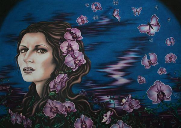 Paintings by Thaisy J. Marín Rodríguez