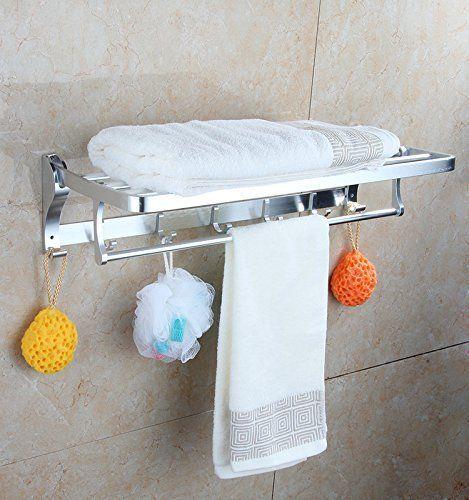 Cloud Power Shelf with Towel Rack Minimalist Aluminum Towel Rack ...
