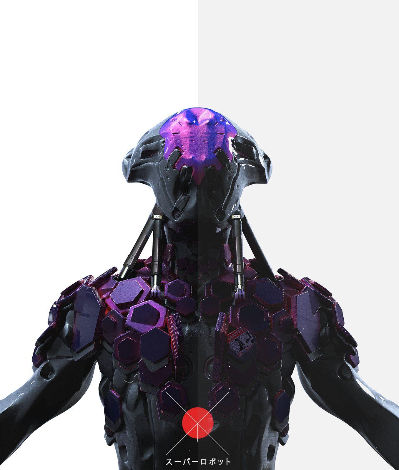 super_robots, Ramazan Kazaliev on ArtStation at https://www.artstation.com/artwork/dlD33