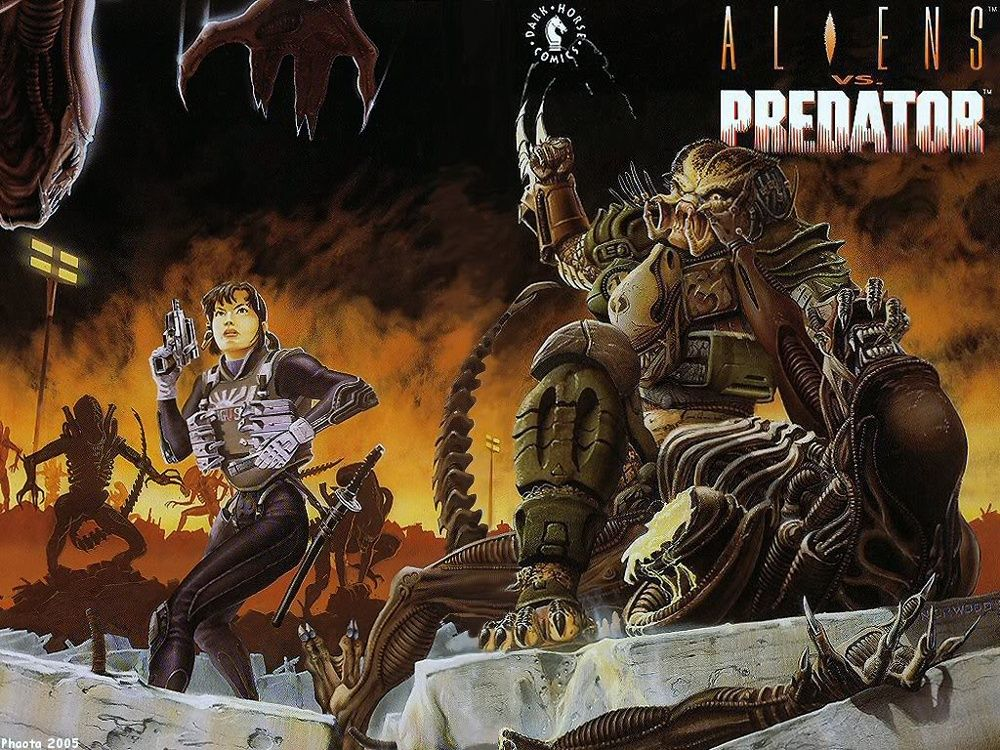 aliens vs predator dark horse classics | Aliens Game ...