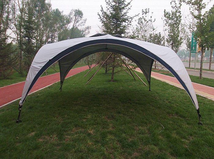 Large Stainless Steel Bracket Beach Tent Outdoor Canopy Gazebo Pool Sun Shade Universal