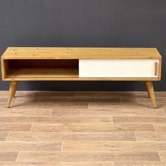 Sideboard / meuble tv / enfilade vintage scandinave #3 clair ...