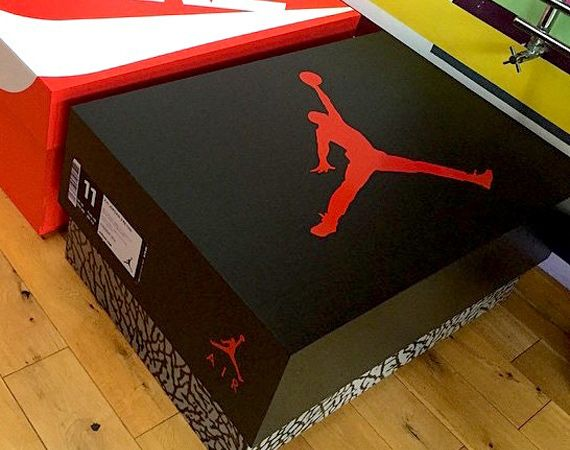 jordan box shoe storage