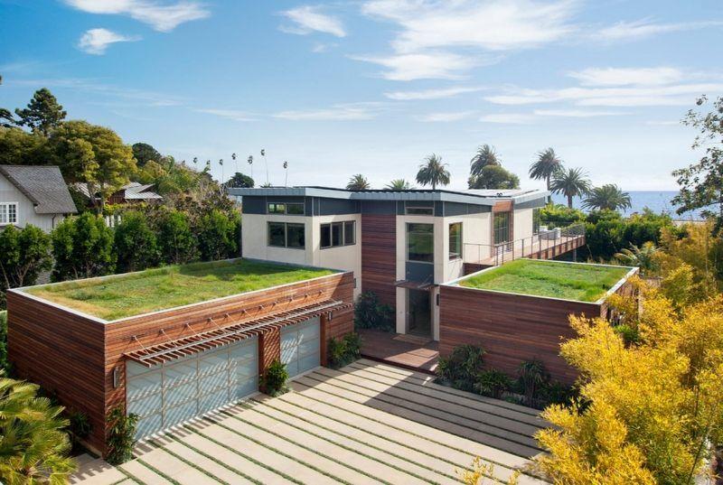 gründach mit rasenfläche gestalten - umweltfreundlich | roof, Gartengerate ideen