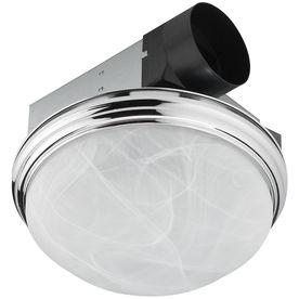 shop utilitech 3 5 sone 70 cfm chrome bathroom fan candelabra none rh pinterest com chrome bathroom exhaust fan with light Contemporary Chrome Vanity Light