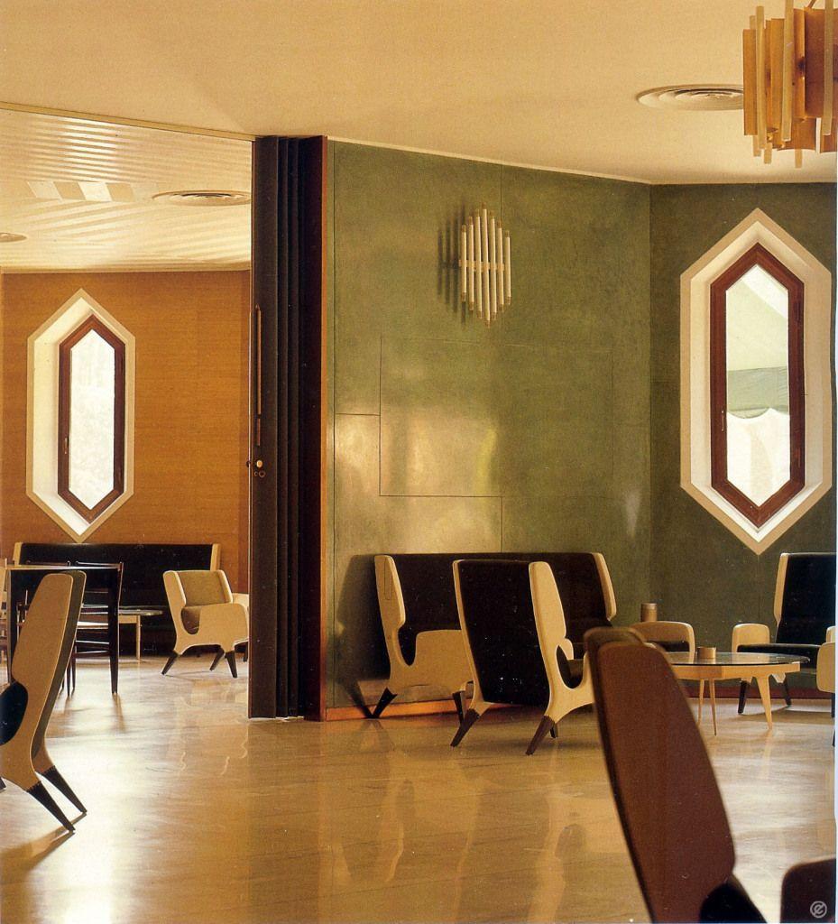 Hotel parco dei principi di roma italy 1961 64 gio for Interior design roma
