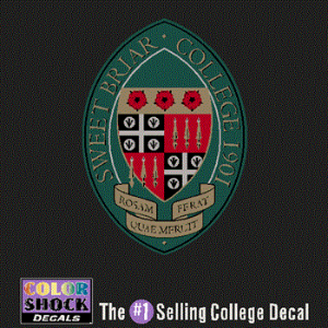 Decal Sbc Seal Sweet Briar College College Decals Sweet Briar