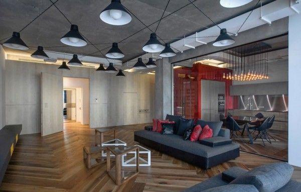 Industriele Loft Woonkamer : Industriele loft door da architects homease woonkamer inspiratie