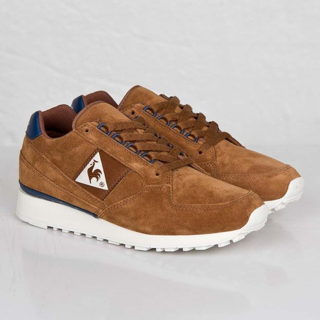 The Le Coq Sportif Eclat Suede Dachshund is one of the latest versions of  the classic model by the French brand to be made available.