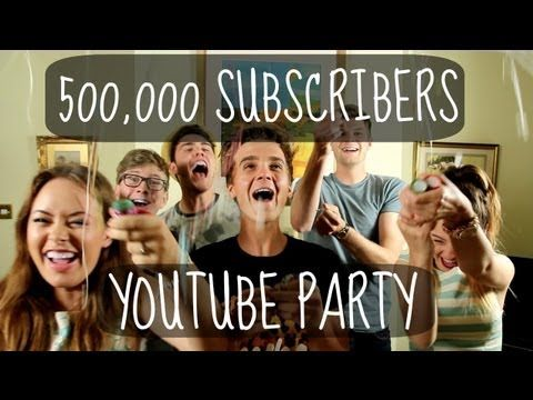 500K SUBSCRIBERS YOUTUBE PARTY. Joe reached 500k!!! this video was hilarious