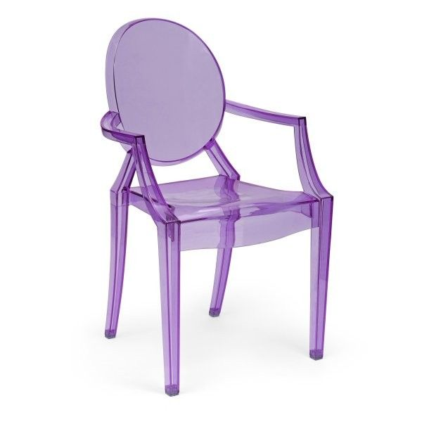 Bon Philippe Starck Louis XV Purple Ghost Chair Armchair. I Want This For My  New Desk Chair.