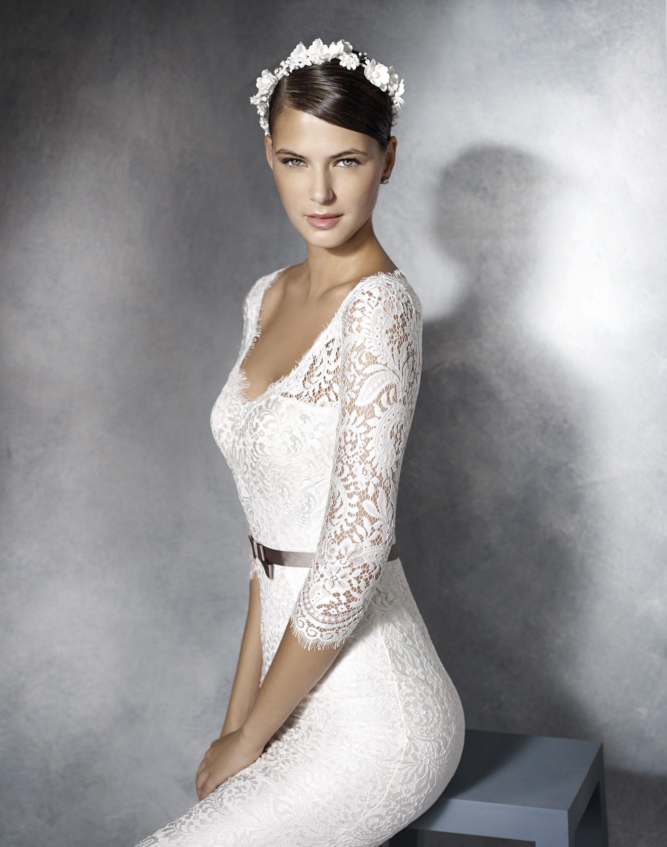 144b49612f Jimena - White One - Esküvői ruhák - Ananász Szalon - esküvői, menyasszonyi  és alkalmi. Wedding Dress .