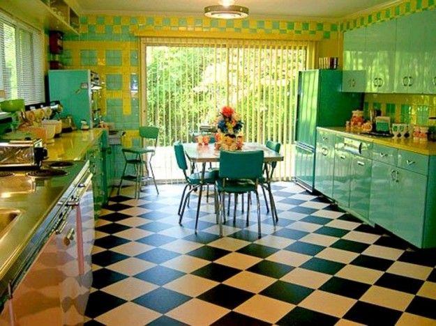 Cucine Vintage Anni 50 Con Immagini Cucine Vintage Cucina