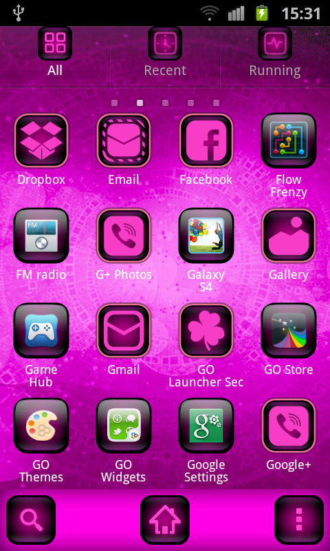 Free Cyanogen Pink Theme APK Download For Android OS
