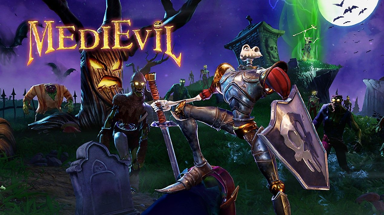 Medievil Is Getting A Full Remake For Ps4 Developed By Other Ocean This Remake Is Based On The First Medievil Game It Has Gone Gold Ps4 Games Ps4 Playstation