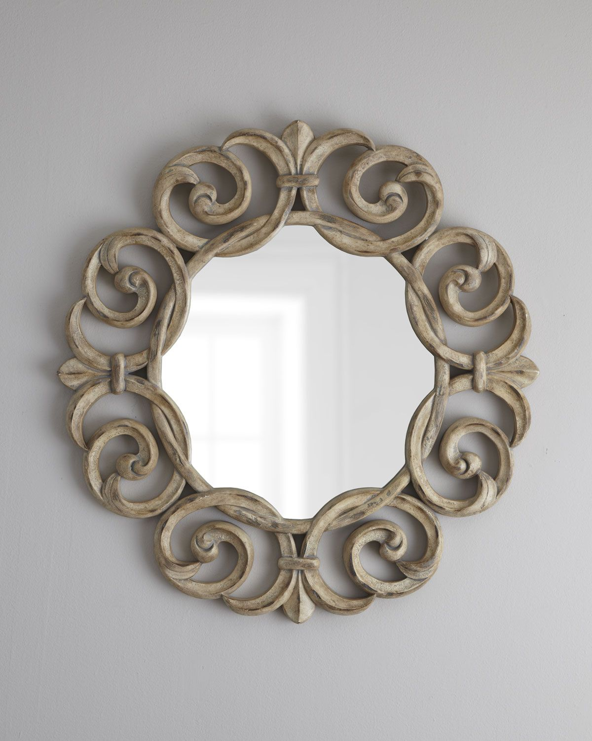 Intertwining Scroll Accent Mirror - Horchow