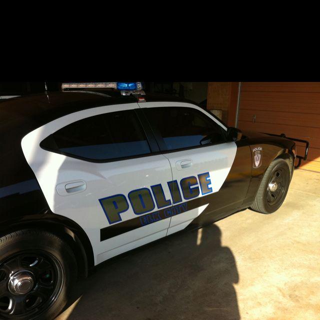 Elk City police car graphics!