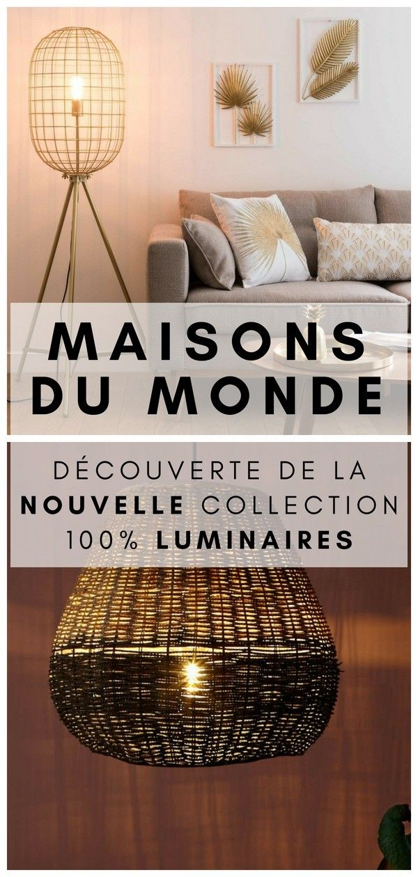 les 30 plus beaux luminaires du nouveau catalogue maisons. Black Bedroom Furniture Sets. Home Design Ideas