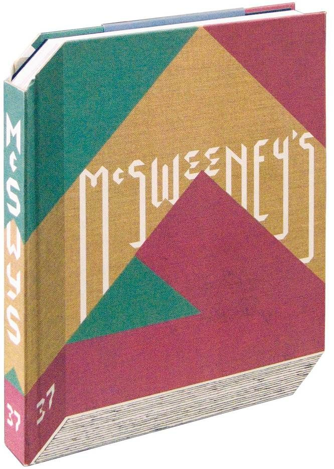 McSweeney\u0027s Issue 37 This hardcover book is a true work of art With