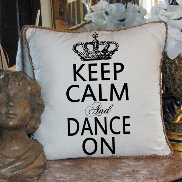 Tea Towels Pillow Talk: Dance Is The Hidden Language Of The Soul. Martha Graham To