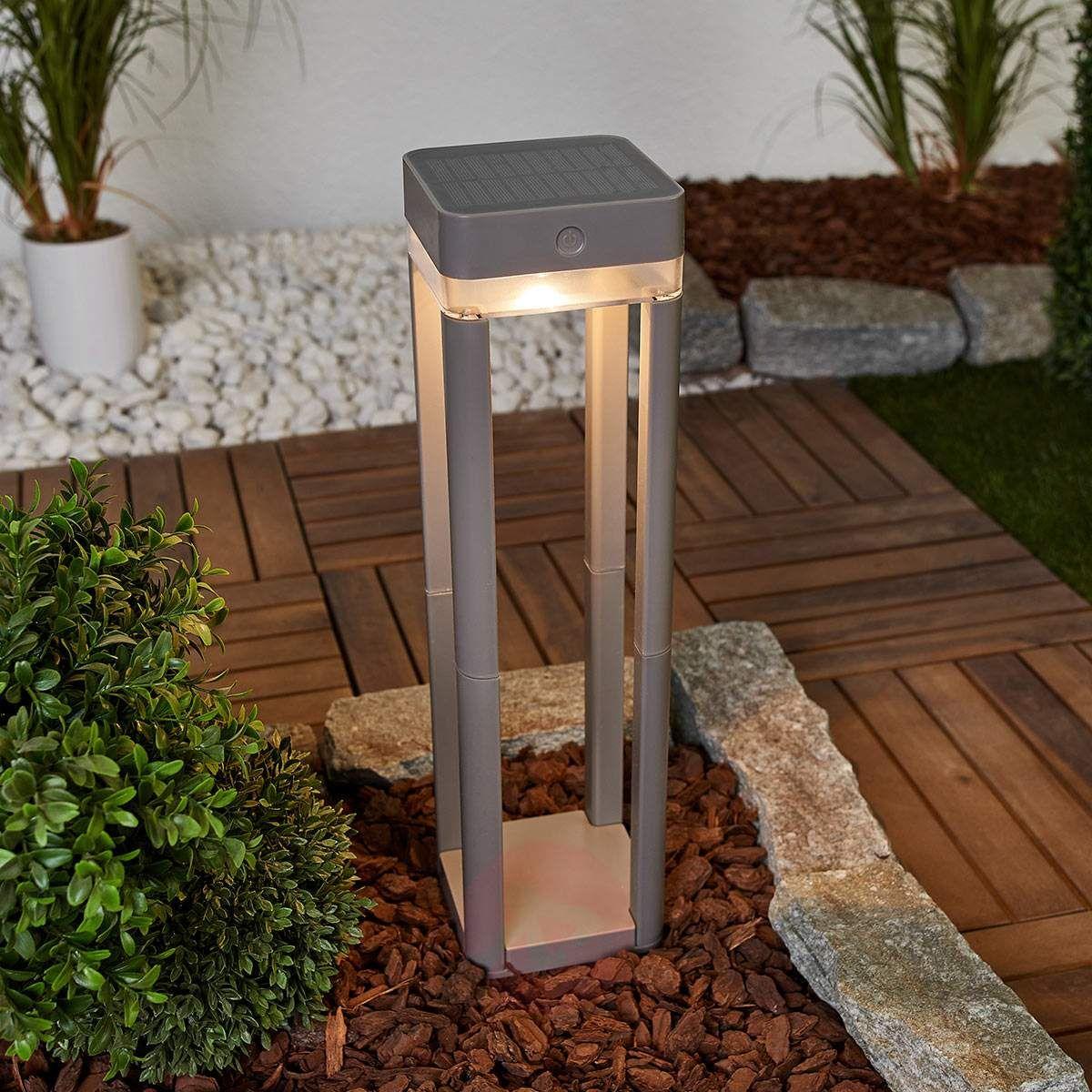 Z Przełącznikiem Słupek Ogrodowy Table Cube Słupki