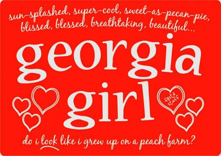 Pin by Lynn Carter on Southern | Georgia girls, Southern belle