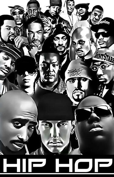 Hip Hop Roll Call Black Light Poster 1 Hip Hop Artists Hip Hop Art Real Hip Hop